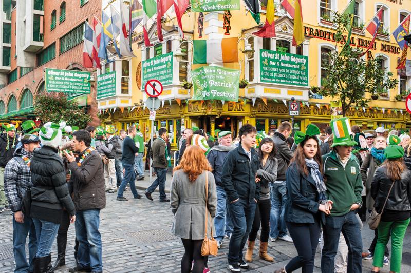 Ka au coeur de la verte irlande les charmes de dublin - Quand tailler les charmes ...