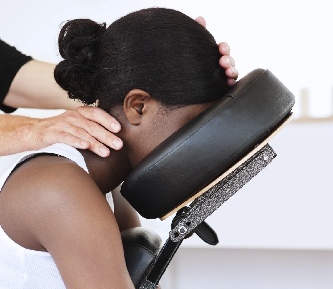Image d'un massage de crane